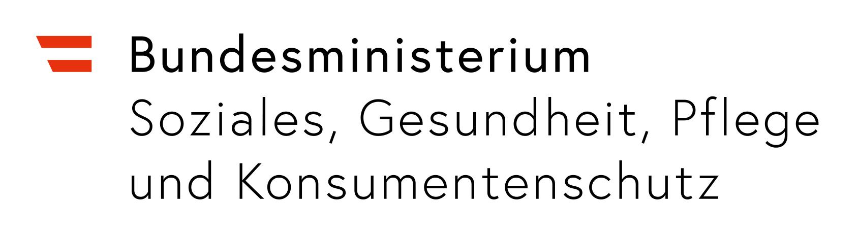 Logo Bundesminisiterium für Soziales, Gesundheit, Pflege und Konsumentenschutz